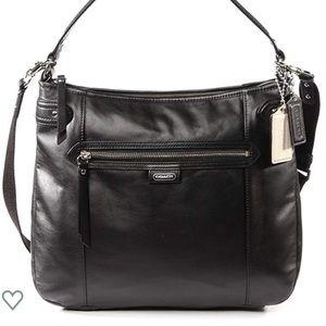 Coach Daisy Leather Convertible Duffle Hobo Bag